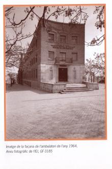 Imatge façana del CAP Prat de la Riba 1964